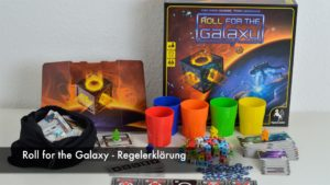 Roll for the Galaxy - Regelerklärung